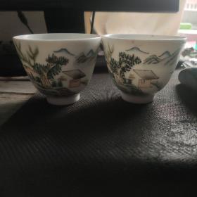 大清光绪年制茶碗
