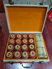 高档金丝楠木九龙象棋,本店商品拍中多件只收一个邮费.,一次购买300元以上包邮 棋子尺寸4.8cmx1.8cm