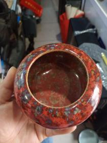 瓷器一件,年代未知,釉色漂亮,保真瓷,不包年代。