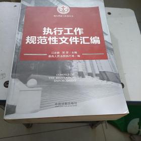 执行理论与实务丛书:执行工作规范性文件汇编