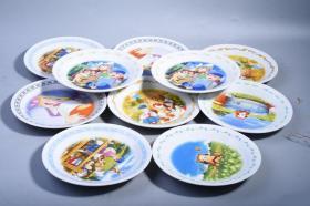 日本回流卡通瓷漫盘