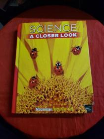 美国小学教材:科学 1级 Science, A Closer Look 1 (大16开,精装)书下角破损!!