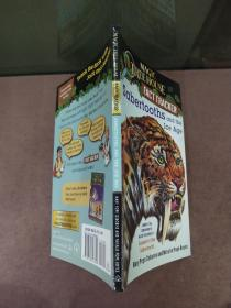 神奇树屋 英文原版童书 Sabertooths and the Ice Age: A Nonfiction Companion to Magic Tree House 7玛丽波奥斯本 青少年读物