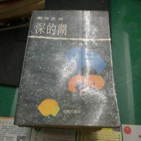 《深的湖》潮汐文丛,王蒙著花城出版社32开328页内文有些泛黄