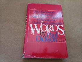 万叶堂英文原版 words -a connoisseur's collection of old and new,weird and wonderful,useful and outlandish words