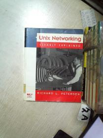 UNIX NETWORKING CLEARLY EXPLAINED 清楚地解释了Unix网络 16开  01