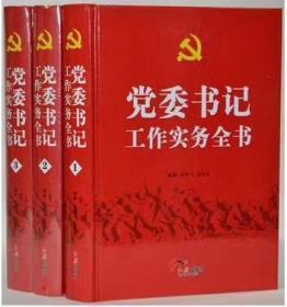 党委书记工作实务全书  全三册   精装