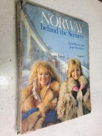 NORWAY behind the scenery(挪威背后的风景)精装本 英文原版