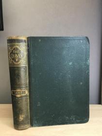 1887年The Quiver: An Illustrated Magazine.vol.xxll 插图本 书口花纹 皮脊 25.5*19cm