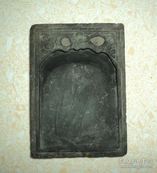 清代老砚台、尺寸13x9.5cm