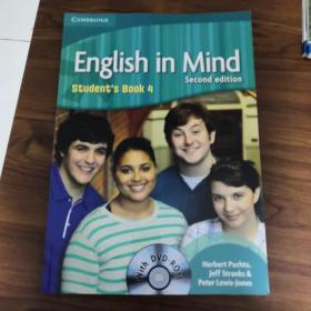 English in Mind Level 4 Student's Book with DVD-ROM《带光碟》