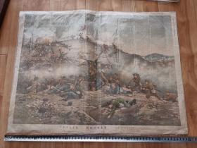 清代时期、日俄战争 交战图