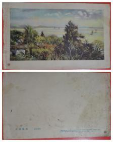 50年代太湖风景图片