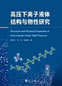 高压下离子液体结构与物性研究  李海宁、朱祥、张焕君 武汉大学出版社