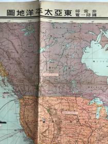 东亚太平洋地图
