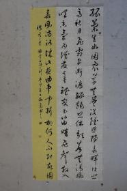 张向东 国展精品书法 中国书法家协会、中国书画界联合会书法艺术研究院会员、中国诗酒文化研究会(文化部直属)书画院理士、北京市委市直工委书法协会会员 185*76cm 品如图 序号1827