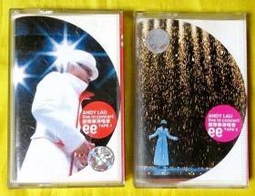 磁带             刘德华 《1999演唱会1、2》1999