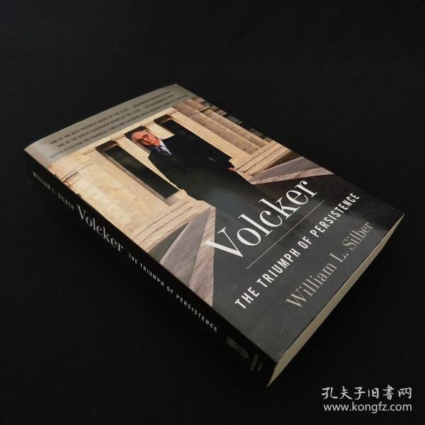 Volcker:The Triumph of Persistence 签名本