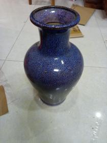 石湾花瓶  高35