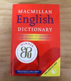 正版现货,Macmillan English Dictionary: For Advanced Learners of American English,精装,带光盘