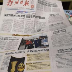 郑州日报2020年11月17日