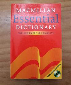 正版现货,Macmillan Essential Dictionary for Learners of English,Macmillan Essential Dictionary,带光盘