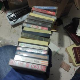 磁带  16盘  空白带 有90年代歌曲