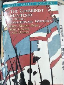 正版!The Communist Manifesto and Other Revolutionary Writings:Marx, Marat, Paine, Mao Tse-Tung, Gandhi and Others (Dover Thrift Editions)9780486424651