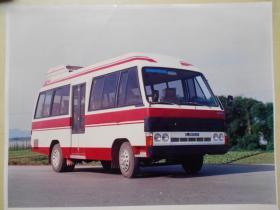 老汽车照片【约80年代,客车照片,6张】乐山客车厂,四平客车厂,大尺寸:30×23cm