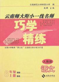 人教版云南师大附小一线名师巧学精练语文六年级上册6年级上册
