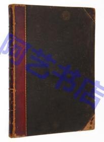 【现货】世界名著《吹牛大王历险记》,多雷的30幅整页钢版画及120多幅版画插图,珍贵的小羊皮初版本,1862年