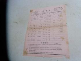 太和制药厂【价目表】1953年1月15日