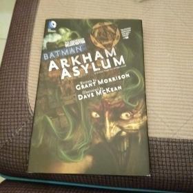 Batman Arkham Asylum 25th Anniversary Deluxe Edition英文原版