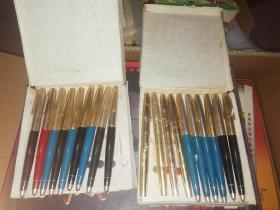老英雄钢笔两盒(全新未使用)
