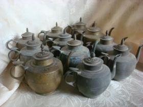 民国小铜壶随机发货