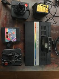 老游戏机雅达利2600