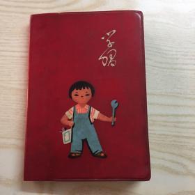 学习 塑料日记 文革
