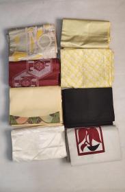 日本回流和服腰带8根特价处理D2457