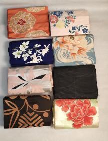 日本回流和服腰带8根特价处理D2458