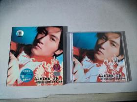 CD:谢霆锋:谢霆锋听 listen up micholas   1歌单本+1CD    美卡正版