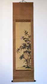 上野雪岳,绢本花鸟