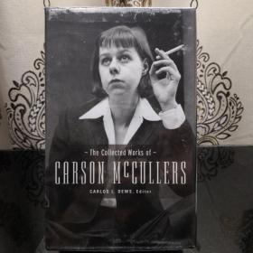 The Collected Works of Carson McCullers (boxed set) Library of America 美国文库 英文原版 美国作家最权威版本 当今装帧典范 布面封皮琐线装订 丝带标记 圣经无酸纸薄而不透保存几个世纪不泛黄