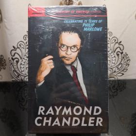 Raymond Chandler: The Library of America Edition (boxed set) Library of America 美国文库 英文原版 美国作家最权威版本 当今装帧典范 布面封皮琐线装订 丝带标记 圣经无酸纸薄而不透保存几个世纪不泛黄