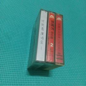 邓丽君演唱会 1/2/3 磁带