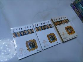 【光盘】老友记 又名(六人行)第七季 完整1盒 4张DVD光盘