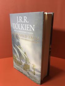 出版社残品一页未裁剪一印未完成的故事四十周年插画版普通精装 英版 Unfinished TalesIllustrated Hardcover
