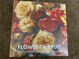 FLOWERS G FRUIT2021 HERMITAGE CALENDAR2021年冬宫挂历三款可选