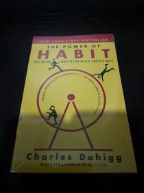 The Power of Habit: Why We Do What We Do in Life and Business习惯的力量英文版,接近书角的地方有勒痕,无笔记无划线,包邮