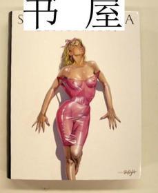 稀缺版 《空山基完整作品集 》大量图录,  约2010年出版