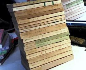 数理化自学丛书 (全17册) 化学全四册.代数全四册.物理全四册.平面几何全2册.三角全1册.平面解析几何全1册 .立体几何全一册【全套共17册合售】